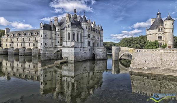 Lâu đài Chateau de Chenonceaux