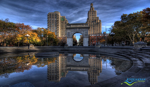 Morning in Washington Square