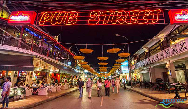 Pub street - Phố Tây balô